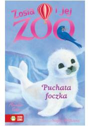 Puchata Foczka Zosia i jej zoo - okładka książki