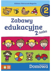Zabawy edukacyjne 2-latka 2 - okładka podręcznika