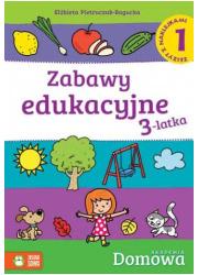 Zabawy edukacyjne 3-latka 1 - okładka podręcznika
