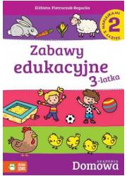 Zabawy edukacyjne 3-latka 2 - okładka podręcznika