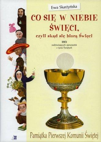Co się w niebie święci - czyli - okładka książki