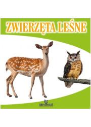 Zwierzęta leśne - okładka książki