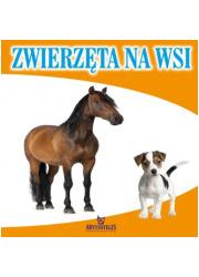 Zwierzęta na wsi - okładka książki