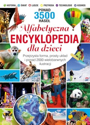 Alfabetyczna encyklopedia dla dzieci - okładka książki