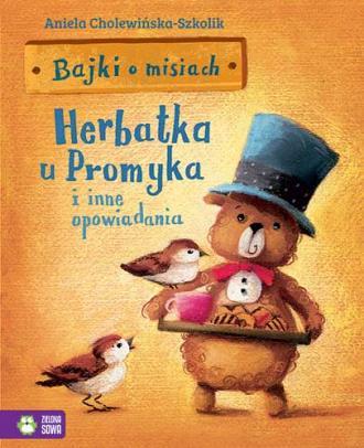 Bajki o misiach cz. 1. Herbatka - okładka książki