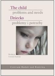 Dziecko - problemy i potrzeby - okładka książki