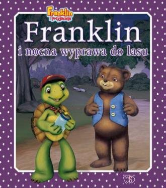 Franklin i nocna wyprawa do lasu - okładka książki