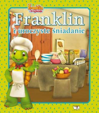 Franklin i uroczyste śniadanie - okładka książki
