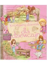 Kreatywny dziennik dla dziewczyn - okładka książki