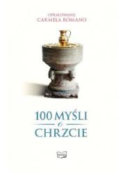 100 myśli o chrzcie - okładka książki