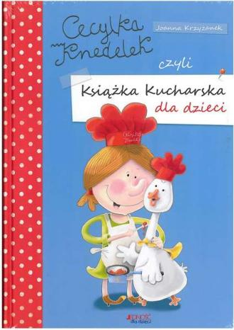 Cecylka Knedelek czyli książka - okładka książki