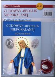 Cudowny Medalik Niepokalanej. Modlitewnik - okładka książki