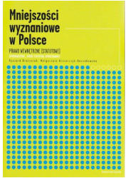 Mniejszości wyznaniowe w Polsce. - okładka książki
