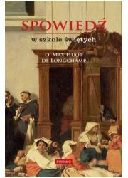 Spowiedź w szkole świętych - okładka książki