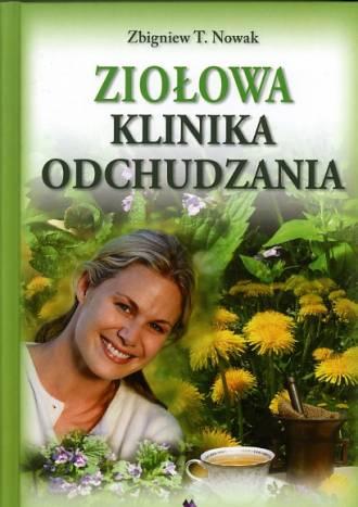 Ziołowa klinika odchudzania - okładka książki