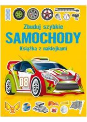 Zbuduj szybkie Samochody. Książka - okładka książki