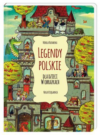 Legendy polskie dla dzieci w obrazkach - okładka książki