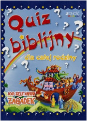 Quiz biblijny dla całej rodziny - okładka książki