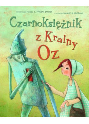 Czarnoksiężnik z Krainy Oz - okładka książki