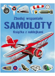 Zbuduj wspaniałe Samoloty. Książka - okładka książki