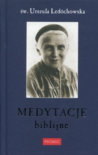 Medytacje biblijne - okładka książki