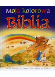 Moja kolorowa Biblia - okładka książki