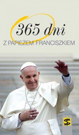 365 dni z papieżem Franciszkiem - okładka książki