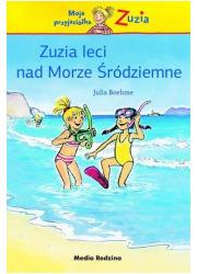 Zuzia leci nad Morze Śródziemne - okładka książki