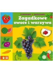 Zagadkowe owoce i warzywa - okładka książki