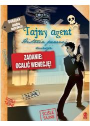 Tajny agent. Historia pewnej misji - okładka książki
