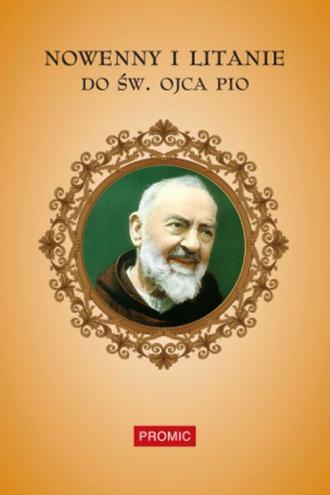 Nowenny i litanie do św. Ojca Pio - okładka książki