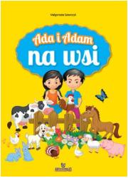 Ada i Adam na wsi - okładka książki