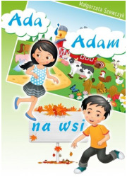 Adam i Ada na wsi - okładka książki