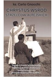 Chrystus wśród strzelców alpejskich - okładka książki