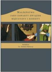 Małżeństwo jako zawarty związek - okładka książki