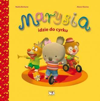 Marysia idzie do cyrku - okładka książki