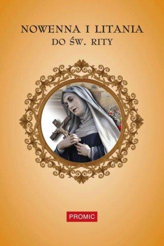 Nowenna i litania do św. Rity - okładka książki