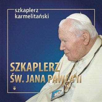 Szkalperz św. Jana Pawła II - okładka książki