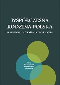 Współczesna rodzina polska. Przemiany, - okładka książki
