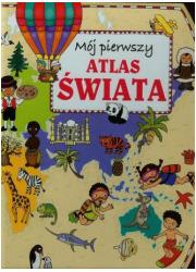 Mój pierwszy atlas świata - okładka książki