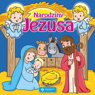 Narodziny Jezusa. Książeczka do - okładka książki