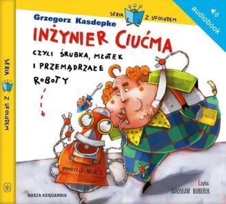 Inżynier Ciućma, czyli śrubka, - pudełko audiobooku