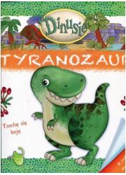 Dinusie. Tyranozaur - okładka książki