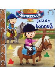 Mali mistrzowie jazdy konnej - okładka książki