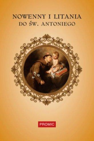 Nowenny i litania do św. Antoniego - okładka książki