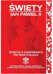 Święty Jan Paweł II. Zdjęcia z - okładka książki