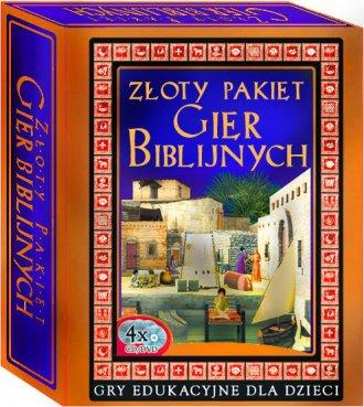 Złoty Pakiet Gier Biblijnych  (4 - pudełko programu
