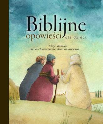 Biblijne opowieści dla dzieci - okładka książki