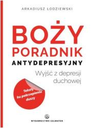 Boży poradnik antydepresyjny - okładka książki