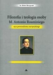Filozofia i teologia osoby bł. - okładka książki
